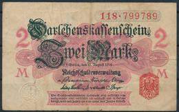 Darlehenskassenschein 1914 - 2 Mark - Circulated - [ 2] 1871-1918 : Empire Allemand