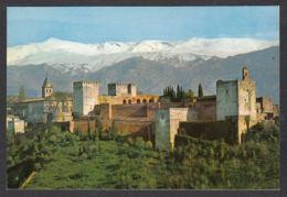 90216/ CHATEAUX, Espagne, Alhambra De Grenade Et Sierra Nevada - Châteaux