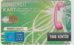 "Turkey Phone Card ""Turkey Telecom 100 Kontor"" (items 151-200) - Turquie"