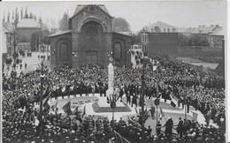 59- MAUBEUGE - SOUS LE BOIS - INAUGURATION DU MONUMENT AUX MORTS - CARTE PHOTO - Maubeuge