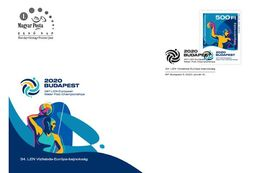 HUNGARY - 2020. FDC - 34th LEN European Water Polo Championships Budapest  MNH!!! - Water Polo
