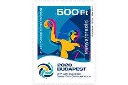 HUNGARY - 2020. 34th LEN European Water Polo Championships Budapest  MNH!!! - Water Polo