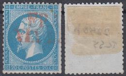 YT 22 B  Ob Rouge VIA DI MARE - 1849-1876: Klassieke Periode