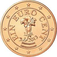 Autriche, Euro Cent, 2013, FDC, Copper Plated Steel - Autriche