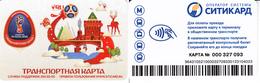 Transport  Card  Russia. Nizni - Novgorod Fifa  World Cup  2018 - Russia