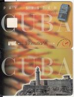"""CUBA - Lighthouse, Informatica """"98 Cuba, Urmet Demo Card, Sample(no Chip) - Cuba"""