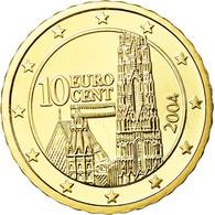 Autriche, 10 Euro Cent, 2004, FDC, Laiton, KM:3085 - Autriche