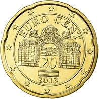 Autriche, 20 Euro Cent, 2013, FDC, Laiton - Autriche
