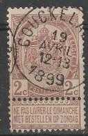 COB N ° 55 Oblitération COUCKELAERE 1899 - 1893-1800 Fijne Baard