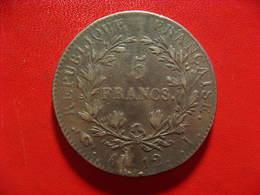 France - 5 Francs An 12 I LImoges Napoléon Ier - Type Intermediaire - Choc Sur La Date 7741 - J. 5 Francs