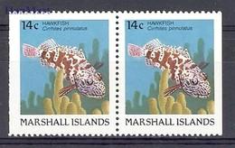Marshall Islands 1988 MNH ( ZS7 MRIpar152D ) - Peces