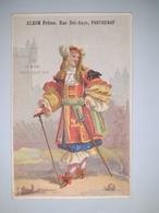 """Chromo Publicitaire """" ALZON  Frères , Rue Bel-Ange à PARTHENAY """" /  LA  MODE  SOUS  LOUIS  XIV  ( Homme ) /  Vers 1880 - Non Classés"""