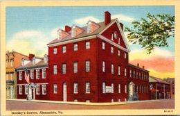 Virginia Alexandria Gadsby's Tavern Curteich - Alexandria