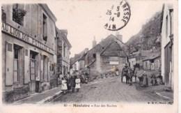 41 -  Loir Et Cher - Montoire -  Rue Des Roches ( Belle Animation ) - Montoire-sur-le-Loir