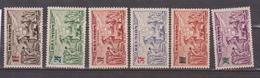 REUNION            N°  YVERT  PA 18/23   NEUF SANS CHARNIERE      ( Nsch 02/20 ) - Réunion (1852-1975)