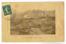30 GRAND COMBE MINE DE TRESCOL 1913 CPA édit. Mlle Vacher 2 SCANS - Mines