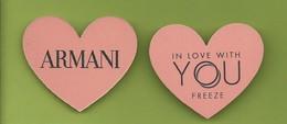 ARMANI  *YOU * V/R - Cartoline Profumate