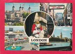 Modern Multi View Post Card Of London,England,P36. - London