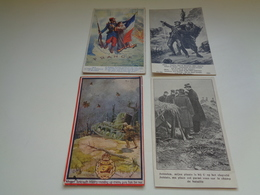 Beau Lot De 20 Cartes Postales De Guerre 1914 - 1918    Soldat  Armée   Mooi Lot 20 Postkaarten  Leger Oorlog Soldaat - Postkaarten
