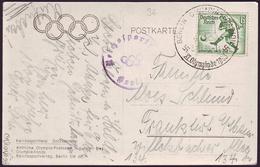 Germany - 1936 Zi - Olympic Games 1936 - Postcard - Estate 1936: Berlino
