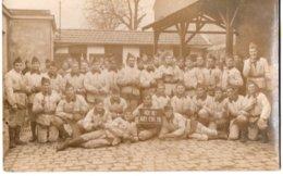 92  RUEIL  GROUPE DE MILITAIRES  10° RI ART COL TR   TRES BEAU PLAN   CARTE PHOTO  1931 - Personen