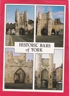 Modern Multi View Post Card Of Bars Of York,Yorkshire,England,P37. - York