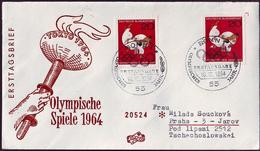 Germany - 1964 A - Olympic Games 1964 - FDC - Estate 1964: Tokio