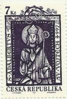 1997 - Ceca Repubblica Sant'Adalberto - Cristianesimo
