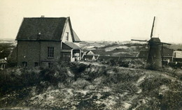 RPCP,  Coxyde, Koksijde , Moulin, Molen, Photo Of Old Photo, 2 Scans - Lieux