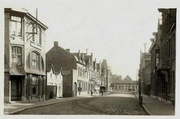 Diksmuide, Diksmude, Station Tramstatie, La Gare,  Atelage, Foto Van Oude Fotokaart, 2 Scans - Lugares