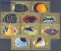 Fujairah 1972 Mi 1380-1389 MNH ( ZS10 FUJ1380-1389 ) - Peces