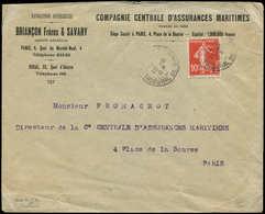 Let Spécialités Diverses - TIMBRES DE GREVE Poste N°138 Obl. Càd (  )/TRIBUNAL DE COMMERCE 19/5/09 S. Env. Pour Paris, T - Poststempel (Briefe)