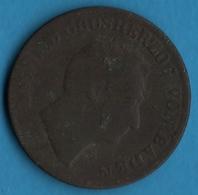 BADEN 1 KREUZER 1851 KM# 218 LEOPOLD GROSHERZOG - [ 1] …-1871 : German States