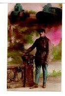 CPA - MILITAIRE ET CHARS - Weltkrieg 1914-18