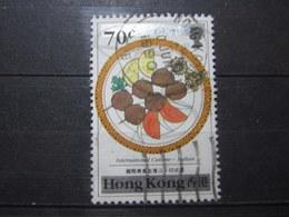 "VEND BEAU TIMBRE DE HONG-KONG N° 595 , OBLITERATION "" HONG KONG B "" !!! - Used Stamps"