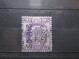 "VEND BEAU TIMBRE D ' INDE N° 60 , OBLITERATION "" BOMBAY "" !!! - 1902-11 King Edward VII"
