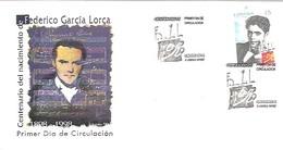 MATASELLOS 1998 GARCIA LORCA - 1931-Hoy: 2ª República - ... Juan Carlos I