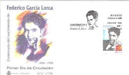 FDC 1998 GARCIA LORCA - FDC
