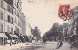 AVIT18- PARIS  SERIE TOUT PARIS   RUE DE CHARENTON A LA RUE NICOLAI   CPA  CIRCULE - Distretto: 12