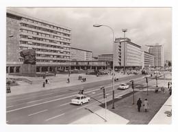 Allemagne Saxe Karl Marx Stadt Allee Foto Hoffmann Oelsnitz VOIR ZOOM Voiture Trabant Landau Ancien - Chemnitz (Karl-Marx-Stadt 1953-1990)