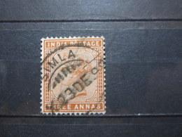 "VEND BEAU TIMBRE D ' INDE N° 38 , OBLITERATION "" SIMLA "" !!! - India (...-1947)"