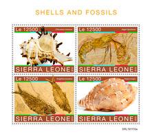 Sierra Leone 2019    Shells And Fossils S201912 - Sierra Leone (1961-...)