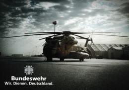 Germany Postcard Military: Bundeswehr. Wir Dienen Deutschland - Mint (G109-15) - Militaria