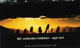 Germany Postcard: Wir Verbinden Soldaten - Egal Wo - Mint (G109-15) - Militaria