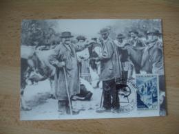 Villefranche De Rouergue  Foire Exposition Obliteration Sur Lettre - Marcophilie (Lettres)