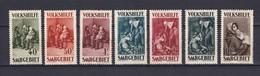 Saargebiet - 1929 - Michel Nr. 135/41 - Ungebr. - 90 Euro - 1920-35 Société Des Nations