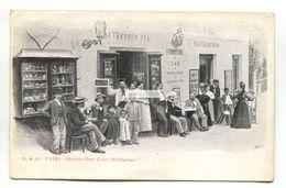 Capri - Birreria Zum Kater Hiddigeigei - Old Italy Café / Bar Postcard - Napoli (Naples)