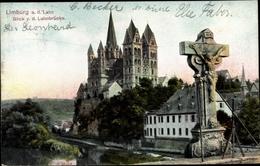 Cp Limburg An Der Lahn, Blick Von Der Lahnbrücke, Dom, Kreuz - Otros