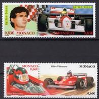 MONACO  N** 2915 2916 2917 2918 MNH - Monaco