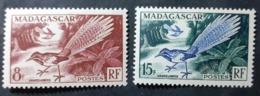 France (ex-colonies & Protectorats) > Madagascar  > 1940-1960 N° 323/324 Neufs - Neufs